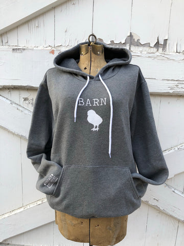 Light Heather Gray Barn Chick Sweatshirt