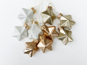 Star Cluster Glass Ornament