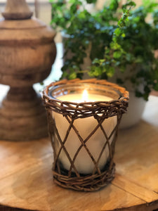 Sweet Tea Willow and Glass Candle