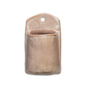 Stoneware Wall Pocket