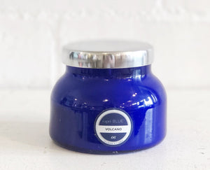 CapriBlue Volcano Candle -Blue Glass