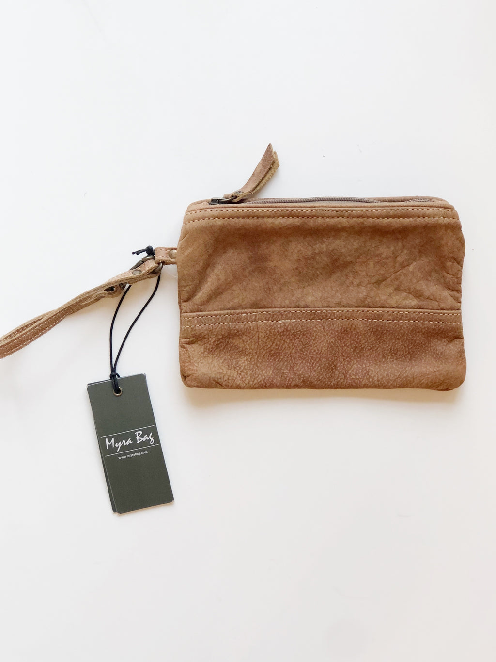 MyraBag Leather Wristlet