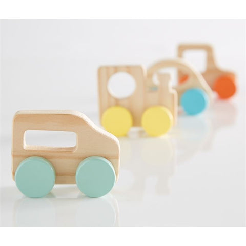 Wooden Car Teether Toy