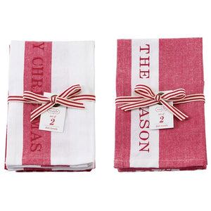 Holiday Kitchen Towel Set