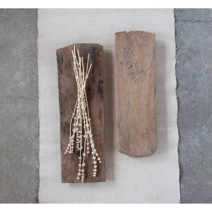 Light Wood Pedestal Board- as found, each vary