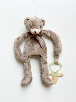 Plush Floppy Pacifier Holder