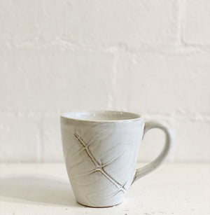 Terra-cotta Mug  with Eucalyptus