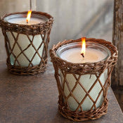 Provence Willow Candle