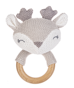 Deer Plush Rattle