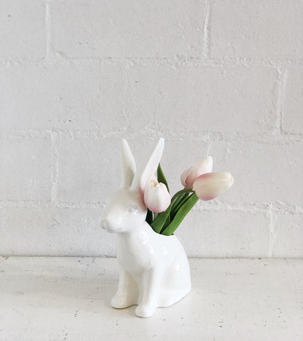 Ceramic Bunny Planter