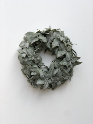 Mint Candle Wreath