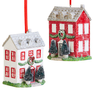 "4.5"" HOUSE ORNAMENT"