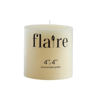 Pillar Unscented Candles