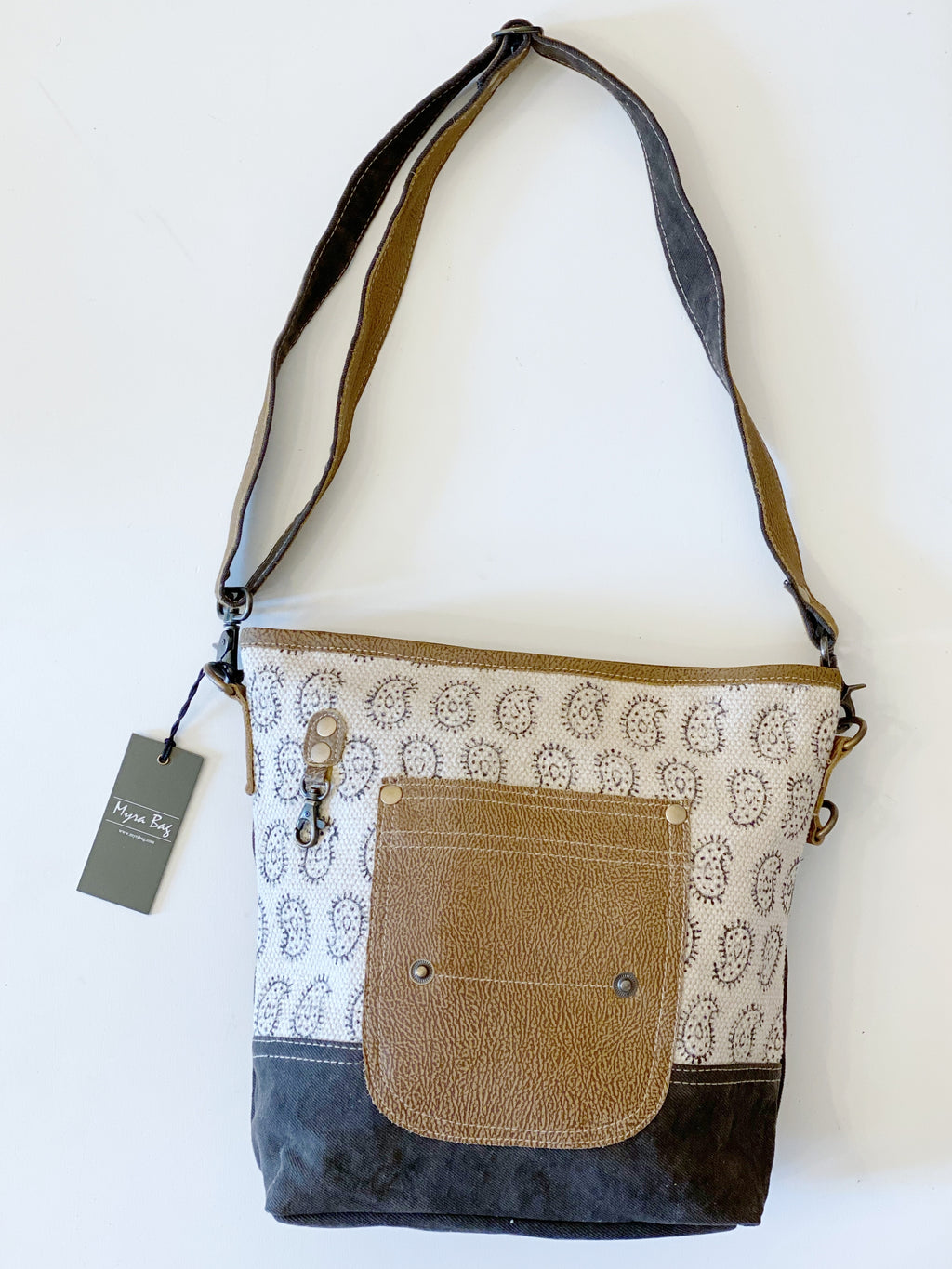 MyraBag Paisley Tango Shoulder Bag