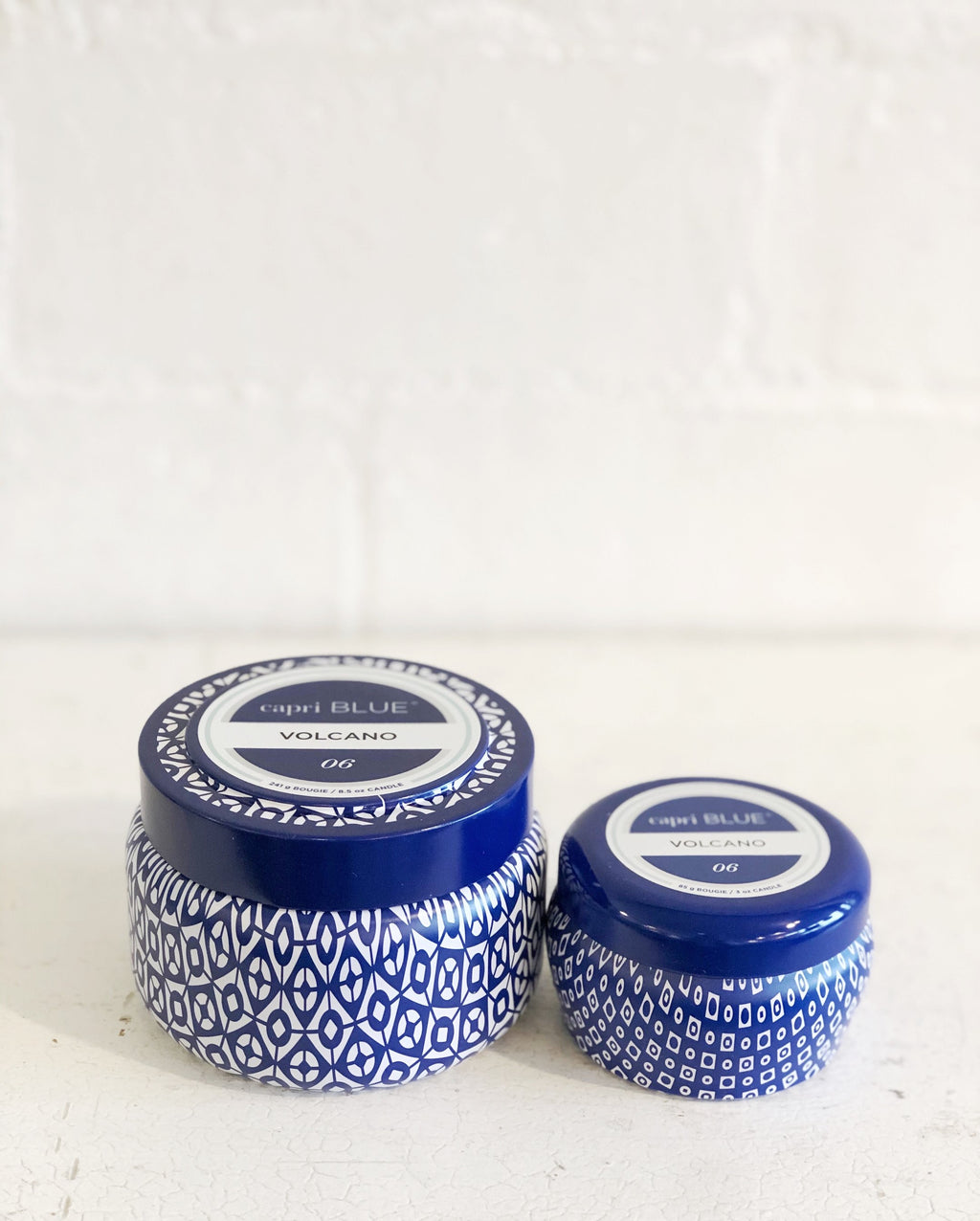 CapriBlue Volcano Candle -Blue tin