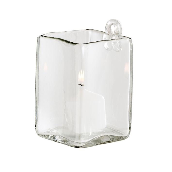 Glass Wall Candle Holder or Planter
