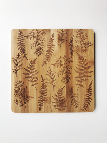 Bamboo Fern Cutting Board