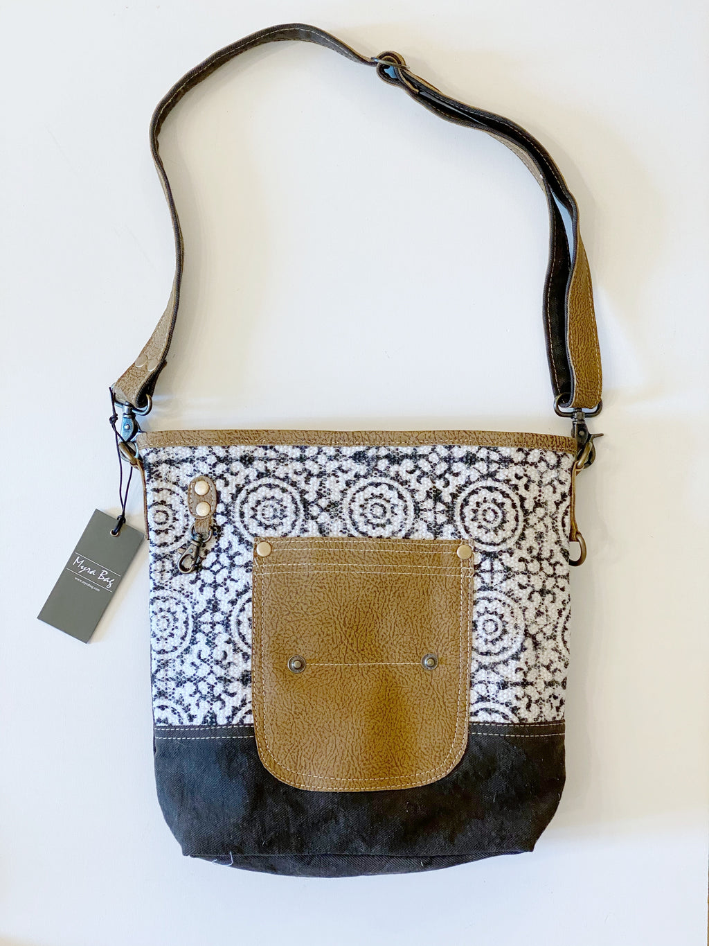 MyraBag Pivot Print Shoulder Bag