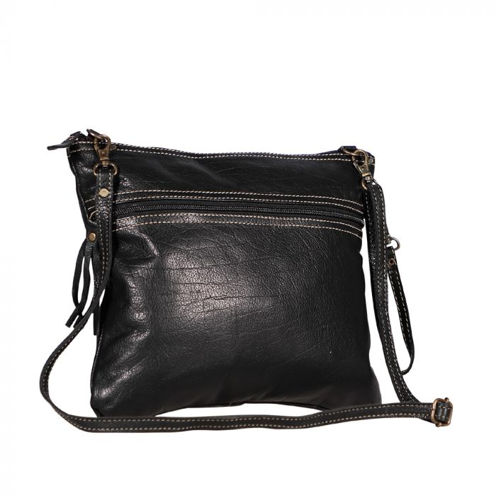 BLACK BEAUTY LEATHER BAG