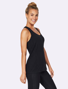 Women's Racerback Active Tank Black - Boody Eco Wear