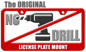 Carbonio - The ORIGINAL No-Drill License Plate Mount