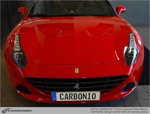 Ferrari California T License Plate Mount