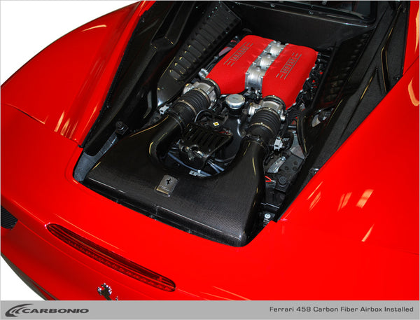 Ferrari 458 Performance Airbox
