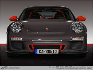 Porsche 997 GT3 & GT3 RS No Drill License Plate Mount