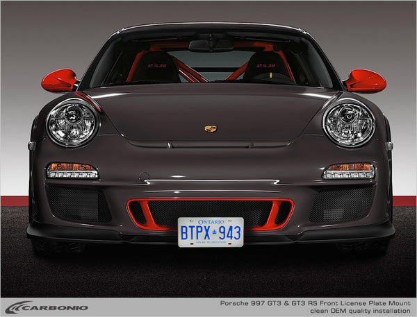 Porsche 997 GT3 & GT3 RS License Plate Mount