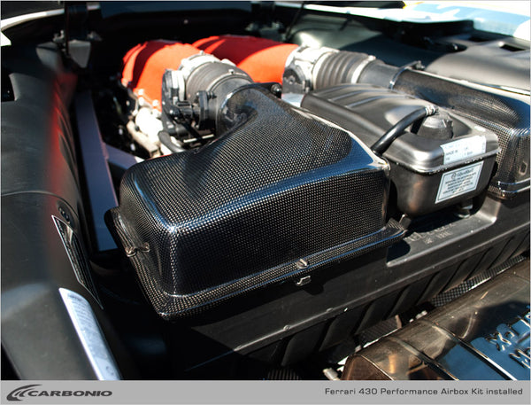Ferrari F430 Performance Airboxes (LIMITED AVAILABILITY)