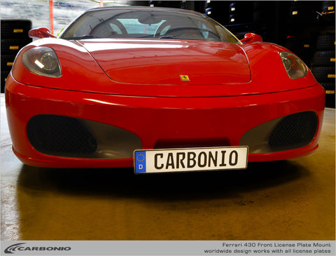 Ferrari F430 License Plate Mount