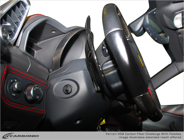 Ferrari F458 F1 Challenge Shift Paddles