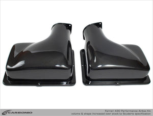 Ferrari F430 Performance Airboxes