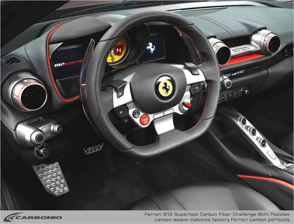 Ferrari 812 Superfast F1 Challenge Shift Paddles