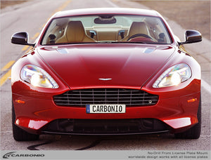 Aston Martin DB9 No-Drill Front License Plate Mount