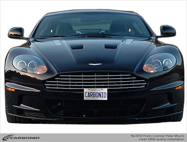 Aston Martin DBS No-Drill Front License Plate Mount