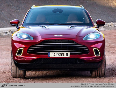 Aston Martin DBX No-Drill Front License Plate Mount