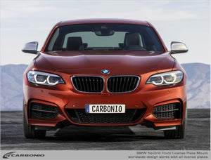 BMW 2-Series No-Drill Front License Plate Mount