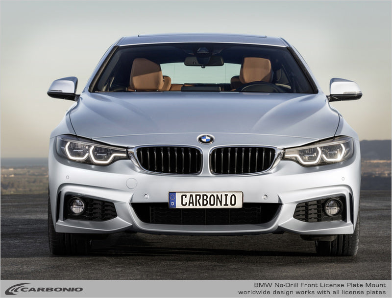 BMW 4-Series No-Drill Front License Plate Mount
