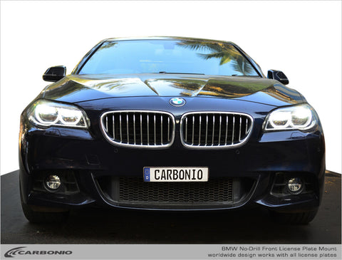 BMW 5-Series No-Drill Front License Plate Mount