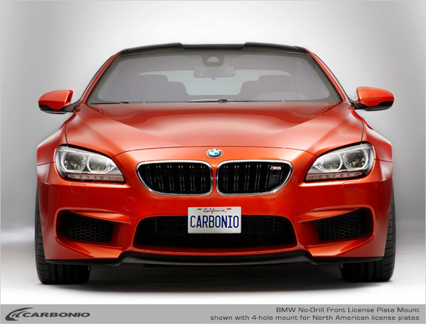 BMW M6 No-Drill Front License Plate Mount 2005-2020