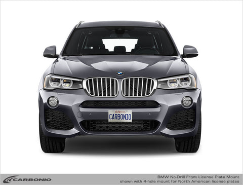 BMW X3 No-Drill Front License Plate Mount