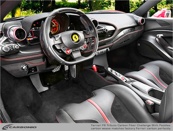 Ferrari F8 Tributo Challenge Shift Paddles