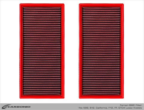 Ferrari BMC High-Performance Air Filter 599 612 F12 California (LIMITED AVAILABILITY)