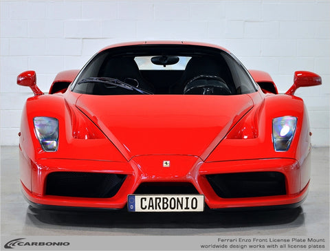 Ferrari Enzo License Plate Mount