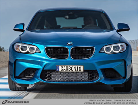 BMW M2 No-Drill Front License Plate Mount