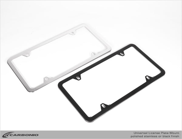 Stainless Steel (North American) License Plate Frame