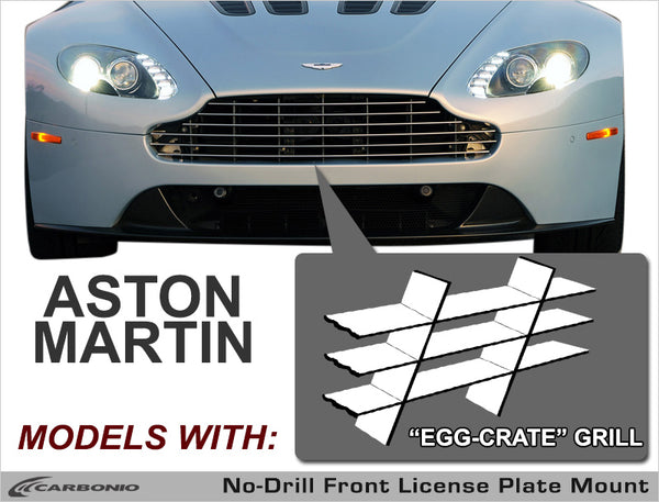 Aston Martin (Other Models) No-Drill Front License Plate Mount
