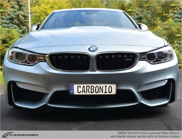BMW M3 No-Drill Front License Plate Mount