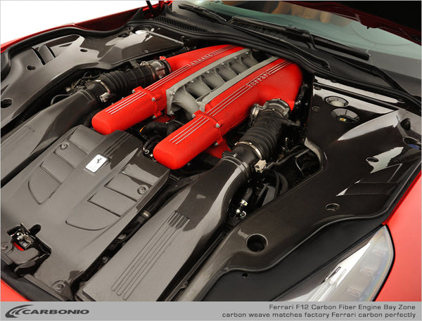 Ferrari F12 Engine Bay Carbon Zone (LIMITED AVAILABILITY)